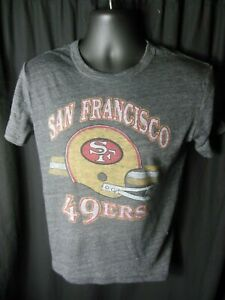 San Francisco 49ers NFL Boys Junk Food Tri Blend Shirt  Large 10