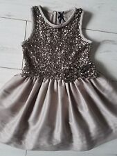 Next girls dress 4 years sequins party occasion 3-4