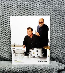 Neil Peart & Peter Erskine Zoom Promo Photo<<>>