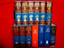 1972 ANIMAL LIFE ENCYCLOPEDIA / GRZIMEK / COMPLETE 13 VOLUME HARDCOVER SET