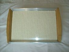 More details for ** vintage large picquot ware serving tray **