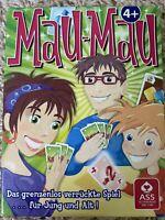 Mau Mau ++ das verrückte Spiel für jung und alt ++ Kartenspiel