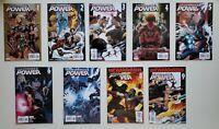 Ultimate Power 1 2 3 4 5 6 7 8 9 Marvel 2006 Set Series Run Lot 1-9 VF/NM