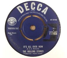 "The Rolling Stones : It's All Over Now : Vintage 7"" Single from 1964"