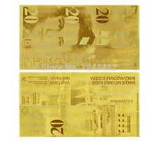 SWITZERLAND FRANCS 20 SCHWEIZER FRANKEN GOLD REPLICA