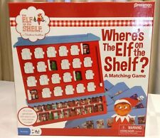 NEW PRESSMAN: THE ELF ON THE SHELF: WHERE'S THE ELF ON THE SHELF A MATCHING GAME