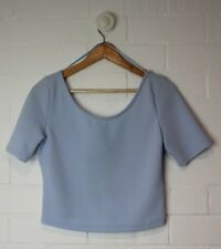 VALLEYGIRL Violet Cropped Top Brand New with Tags Size L