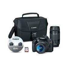 Canon 2727C023 EOS Rebel T7 24.1MP Digital SLR Camera Bundle with EF-S 18-55mm