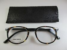 THE Stunning Executive TORTOISE & BLACK Reading Glasses with Soft Case +1.25