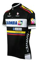 Team Colombia Men's Full Zip Cycling Jersey 🇮🇹 Made in Italy 🇮🇹 All Sizes!