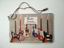 Vintage original Fender Jaguar 60´ owners instructions manual