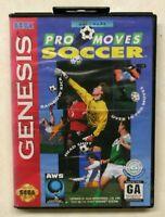 Pro Moves Soccer - Complete CIB (Sega Genesis, 1994)