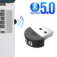 USB Bluetooth V5.0 Wireless Mini Dongle  Adapters For Windows 7/8/10 PC Laptop