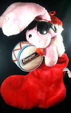 Energizer Bunny Christmas Stocking Vintage 1993 Advertising Memorabilia Holiday