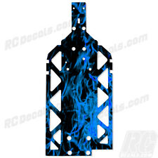 HPI BAJA 5B SS 5T 5SC Chassis Plate Protector - Blue Flames 11247