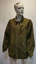 Levis Corduroy Ribbed Olive jacket/Coat Mens Large
