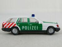 """Wiking 10300 Mercedes-Benz 230 TE (1984) """"Autobahnpolizei"""" 1:87/H0 guter Zustand"""