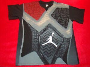Nike Air Jordan XX2 Jumpman Mens Size XL Black Red T-Shirt