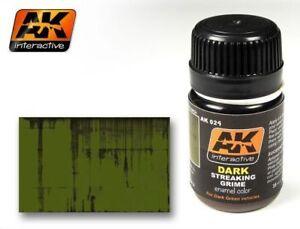 AK WEATHERING STREAKING GRIME FOR DARK VEHICLES