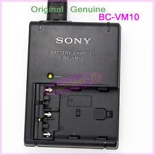 Genuine Original SONY BC-VM10 Charger for NP-FM500H FM50 FM90 QM71D QM91D