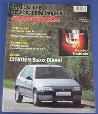 Revue technique  RTA 596 Citroen Saxo diesel