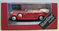 Starline Models 1/43 Lancia Astura IV Serie Ministeriale-1938 (Red)