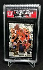 1992-93 FLEER TOTAL D Michael Jordan #5 of 15 HGA 8.5 NM-MT+