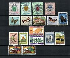 Ruanda Urundi Africa Belgium Colonies Collection Mh & Used Stamp Lot (Afr 11 A)