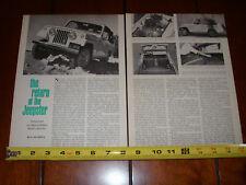 1967 JEEP JEEPSTER - ORIGINAL VINTAGE ARTICLE