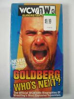 Goldberg - Who's Next? NEW SEALED (1998,VHS) WCW/nWo Superstar Series Wrestling