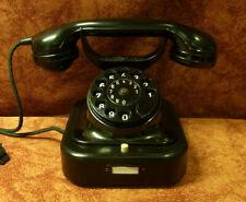 Jubiläum! 85! W28 Telefon SIEMENS Telephone  Fernsprecher W28 restauriert 6.1936