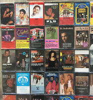 BUILD UR OWN Cassette Tape Lot - Soul Jazz Funk R&B Motown Disco New Jack Swing