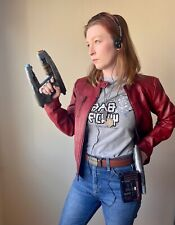 Star Lord Cosplay Costume Red Jacket Blasters Guardians of the Galaxy Sm / Med