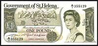 1981 ST HELENA £1 BANKNOTE * A/1 355129 * UNC * P-9a * Saint Helena