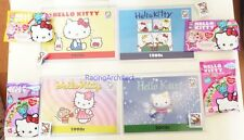 Hello Kitty Con 2014 Exclusive Upper Deck 4 Card Set with Figure