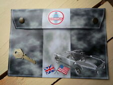 AC shelby cobra style toolbag document titulaire manuel sac MUSTANG 289 427 GT