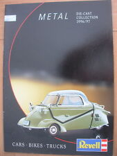 REVELL DIECAST MODEL COLLECTION 1996/97 CATALOGUE