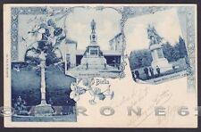 BIELLA CITTÀ 141 tipo GRUSS Cartolina viaggiata 1900
