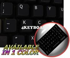 DVORAK (LH) NON-TRANSPARENT KEYBOARD STICKER BLACK