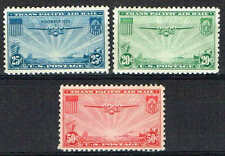 #C20-22 1935-37 China Clipper Airmail Issues Mint-Og/Lh