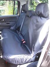 VW Volkswagen Amarok 2011 + noir waterproof et adapté arrière Housse siège
