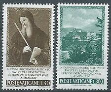 1965 VATICANO S. BENEDETTO MNH ** - EDV04