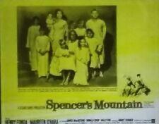 """""""Spencer's Mountain"""", Henry Fonda, Movie Preview Magic Lantern Glass Slide"""