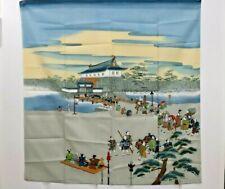 Vintage Silk Scarf JAPAN