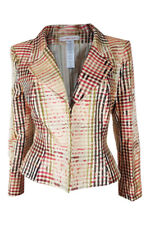 *CHRISTIAN LACROIX* VINTAGE SILK FITTED JACKET (44)