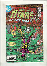 NEW TEEN TITANS #33 VF/NM