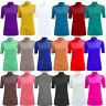 Ladies Short Sleeve Turtle Polo Neck Top Women T-Shirt High Neck Tee T-Shirt UK