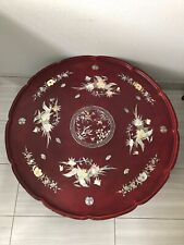 Antique coffee table Asia Material Wood Handmade Beautiful Mother Of Pearl