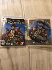 Civilization Revolution - Playstation 3 PS3 COMPLETE