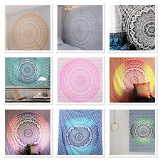 Indian Ombre Tapestry Wall Hanging Mandala Hippie Bedspread Throw Bohemian Cover